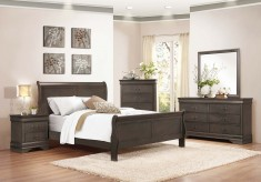 Homelegance Mayville 5pc Grey King Bedroom Group Available Online in Dallas Fort Worth Texas