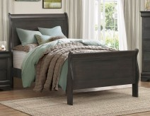 Mayville Grey Twin Bed Available Online in Dallas Fort Worth Texas