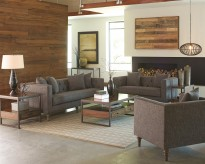 Coaster Ellery 2pc Sofa & Loveseat Set Available Online in Dallas Fort Worth Texas