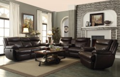 MacPherson 2pc Power Reclining Sofa & Loveseat Set Available Online in Dallas Fort Worth Texas