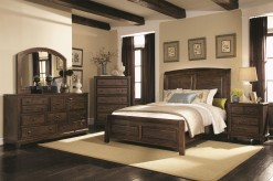 Coaster Laughton Queen 5pc Sleigh Bedroom Group Available Online in Dallas Fort Worth Texas