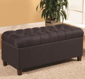 Coaster Jolia Blue Accent Storage Bench Available Online in Dallas Fort Worth Texas