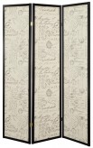 Coaster Ashworth Three Panel Espresso Folding Screen Available Online in Dallas Fort Worth Texas