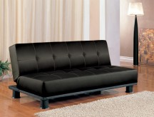 Coaster Contempo Black Sofa Bed Available Online in Dallas Fort Worth Texas