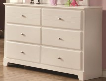 Coaster Ashton White Dresser Available Online in Dallas Fort Worth Texas