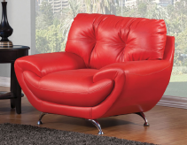 Volos Red Chair Available Online in Dallas Fort Worth Texas