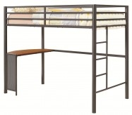 Ernest Twin Loft W/ Desk Shelf Available Online in Dallas Fort Worth Texas
