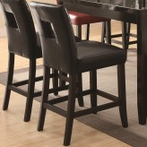 Newbridge Black Counter Height Barstool Available Online in Dallas Fort Worth Texas
