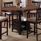 Coaster Lavon Espresso Counter Height Table Available Online in Dallas Fort Worth Texas