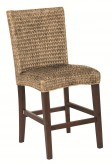 Westbrook Banana Leaf Natural Counter Height Stool Available Online in Dallas Fort Worth Texas