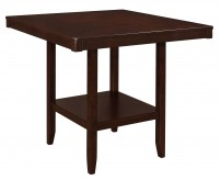 Coaster Fattori Espresso Counter Height Table Available Online in Dallas Fort Worth Texas