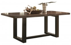 Coaster Westbrook Brown & Black Dining Table Available Online in Dallas Fort Worth Texas
