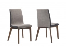 Coaster Redbridge Grey Side Chair Available Online in Dallas Fort Worth Texas