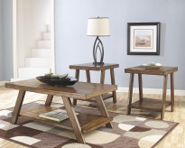 Ashley Bradley 3pc Coffee Table Set Available Online in Dallas Fort Worth Texas