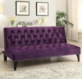 Coaster Roy Purple Sofa Bed Available Online in Dallas Fort Worth Texas