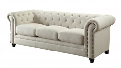 Coaster Roy Oatmeal Sofa Available Online in Dallas Fort Worth Texas