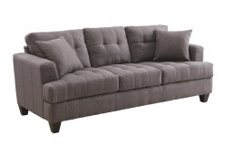 Coaster Samuel Charcoal Sofa Available Online in Dallas Fort Worth Texas