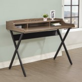 Razor Light Brown Writing Desk Available Online in Dallas Fort Worth Texas