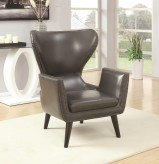 Coaster Saleek Charcoal Accent Chair Available Online in Dallas Fort Worth Texas