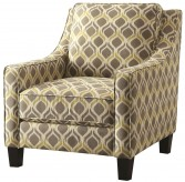 Coaster Saleek Grey & Yellow Chair Available Online in Dallas Fort Worth Texas