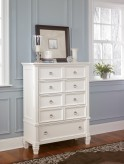 Prentice White Chest Available Online in Dallas Fort Worth Texas