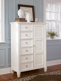 Prentice White Door Chest Available Online in Dallas Fort Worth Texas