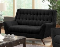 Coaster Natalia Black Loveseat Available Online in Dallas Fort Worth Texas
