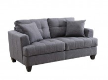 Coaster Samuel Charcoal Loveseat Available Online in Dallas Fort Worth Texas