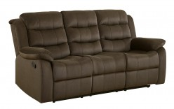 Coaster Rodman Chocolate Motion Sofa Available Online in Dallas Fort Worth Texas