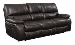 Coaster Willemse Chocolate Motion Sofa Motion Sofa with Drop-Down Table Available Online in Dallas Fort Worth Texas