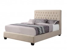 Coaster Chloe Cream Cal King Bed Available Online in Dallas Fort Worth Texas