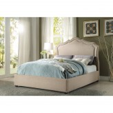 Homelegance Delphine Light Brown Queen Bed Available Online in Dallas Fort Worth Texas