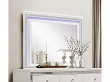Alonza White LED Lighting Mirror Available Online in Dallas Fort Worth Texas