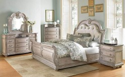 Palace White King 5pc Bedroom Group Available Online in Dallas Fort Worth Texas