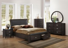 Lyric Brown King 5pc Bedroom Group Available Online in Dallas Fort Worth Texas