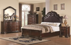 Coaster Maddison 5pc King Low Profile Bedroom Group Available Online in Dallas Fort Worth Texas