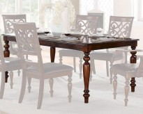 Homelegance Creswell Rich Cherry Dining Table Available Online in Dallas Fort Worth Texas