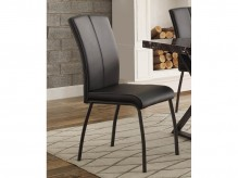 Homelegance Rancho Portola Black Side Chair Available Online in Dallas Fort Worth Texas