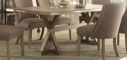 Homelegance Beaugrand Brown Rectangular Dining Table Available Online in Dallas Fort Worth Texas