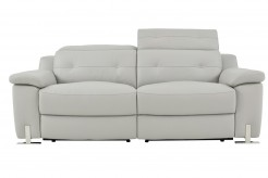Homelegance Vortex Light Grey Power Double Reclining Sofa Available Online in Dallas Fort Worth Texas