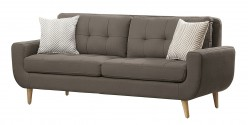 Homelegance Deryn Grey Sofa Available Online in Dallas Fort Worth Texas
