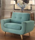 Homelegance Deryn Teal Chair Available Online in Dallas Fort Worth Texas