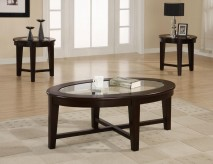 Coaster Carter 3pc Coffee Table Set Available Online in Dallas Fort Worth Texas