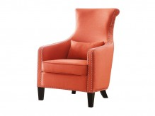 Homelegance Arles Orange Accent Chair Available Online in Dallas Fort Worth Texas