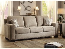 Homelegance Gowan Brown Sofa Available Online in Dallas Fort Worth Texas