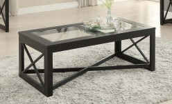 Homelegance Berlin Black Coffee Table Available Online in Dallas Fort Worth Texas
