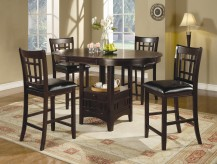 Coaster Lavon 5pc Cappuccino Counter Height Dining Set Available Online in Dallas Fort Worth Texas