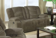 Coaster Charlie Brown Reclining Loveseat Available Online in Dallas Fort Worth Texas
