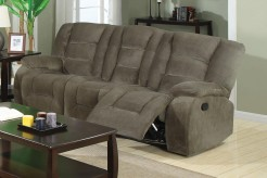 Coaster Charlie Brown Reclining Sofa Available Online in Dallas Fort Worth Texas