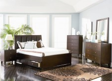 Lorretta King 5pc Storage Bedroom Group Available Online in Dallas Fort Worth Texas